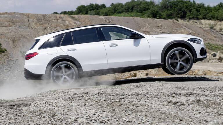 Mercedes-Benz Clase C All-Terrain rendimiento